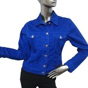 Vintage Blue Crush Blue Jean Jacket, size Small